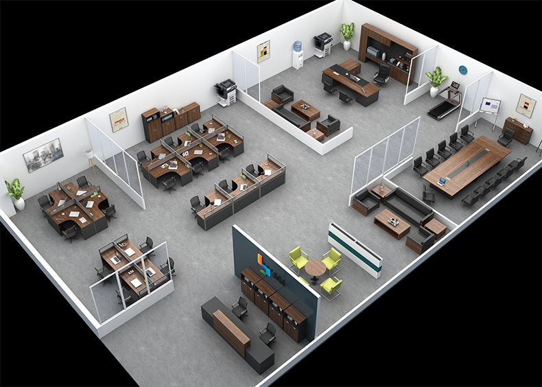 简约现代办公家具