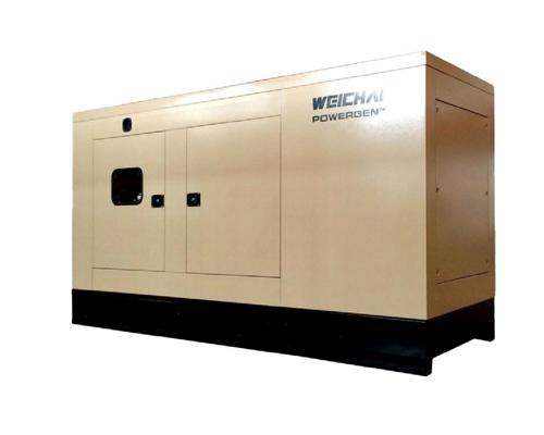 濰柴靜音型發電機30KW