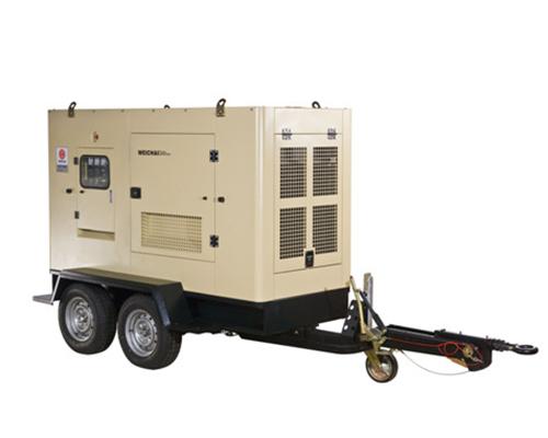 濰柴拖車式發電機組(10KW—300KW)