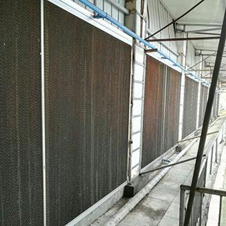 水帘风机安装