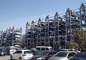 七层垂直循环立体停车设备
