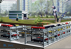 平面移动智能立体车库