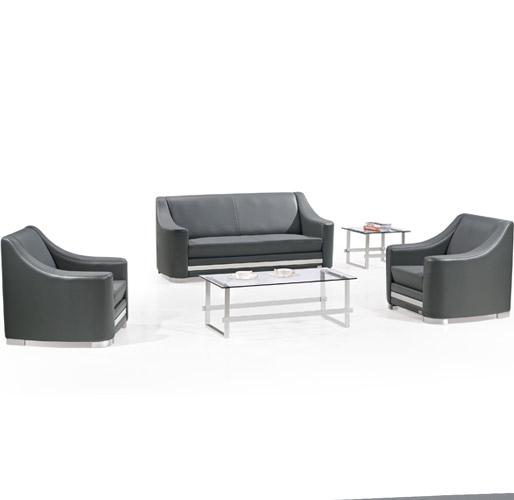 黑色组合休闲沙发