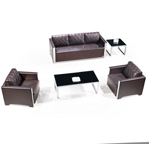 褐色组合休闲沙发