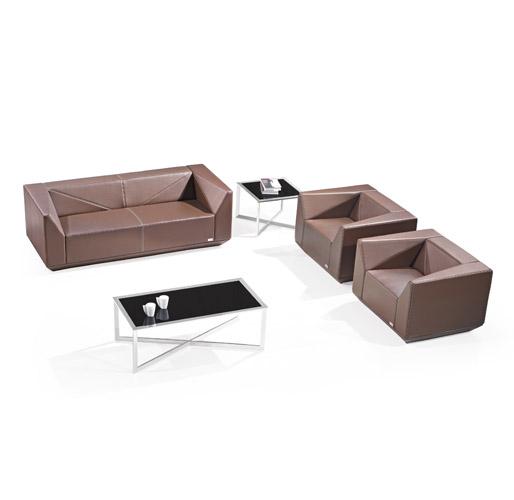 棕色组合休闲沙发