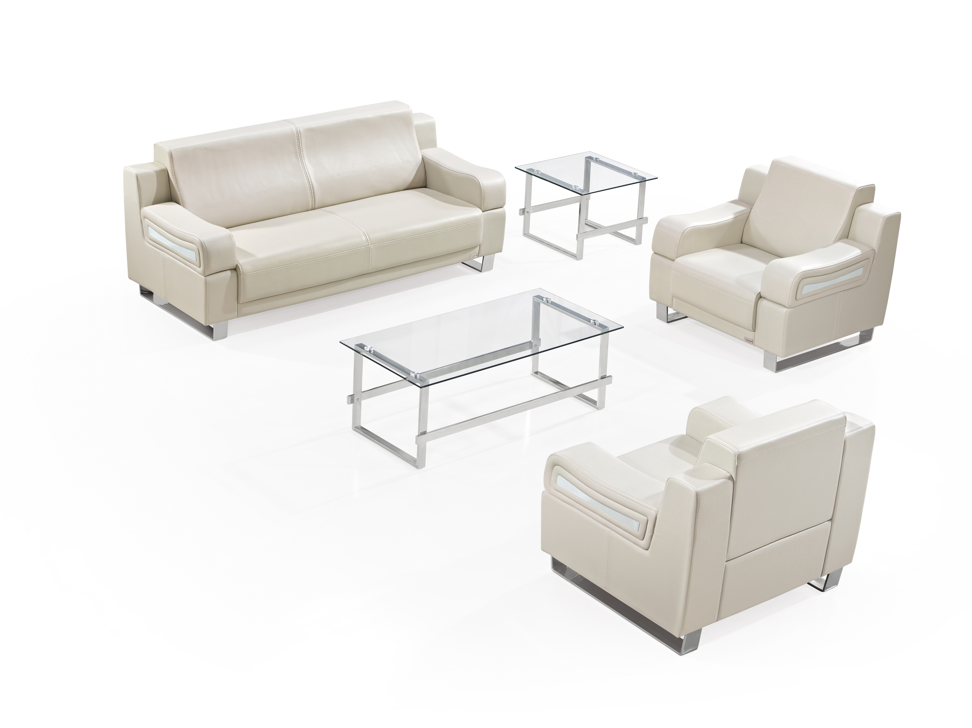 灰色组合休闲沙发