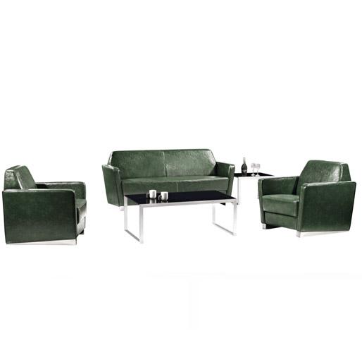深绿色组合沙发