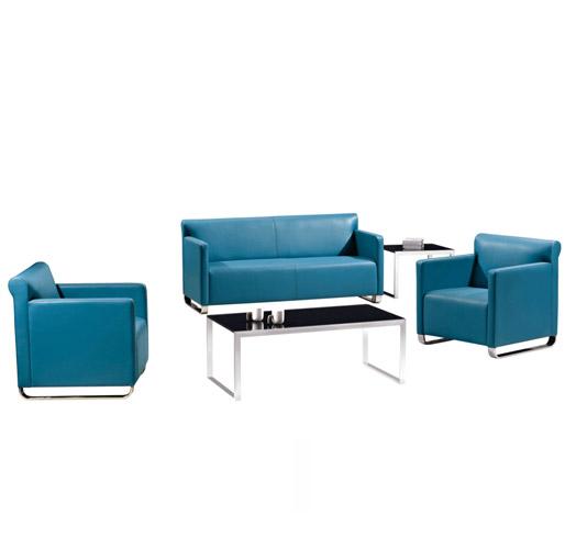 深蓝色组合沙发
