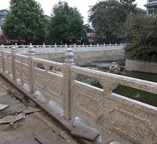贵州仿石栏杆工程