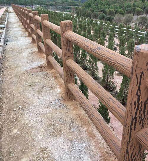 贵阳仿木栏杆树皮型