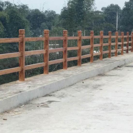 水泥仿木栏杆定制