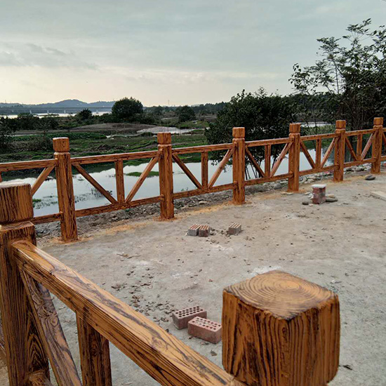 水泥仿木栏杆价格