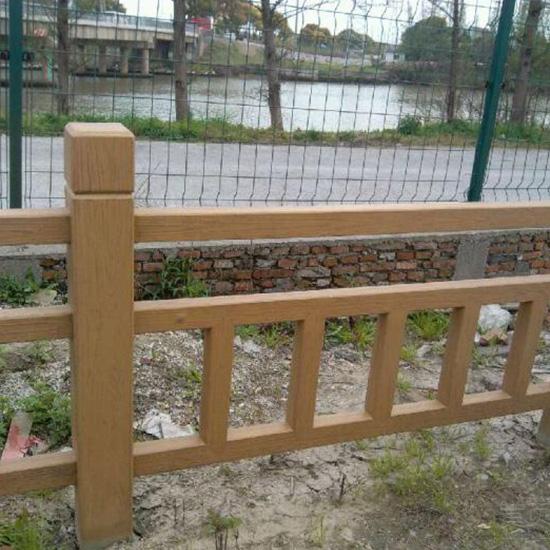 混凝土仿木栏杆定制