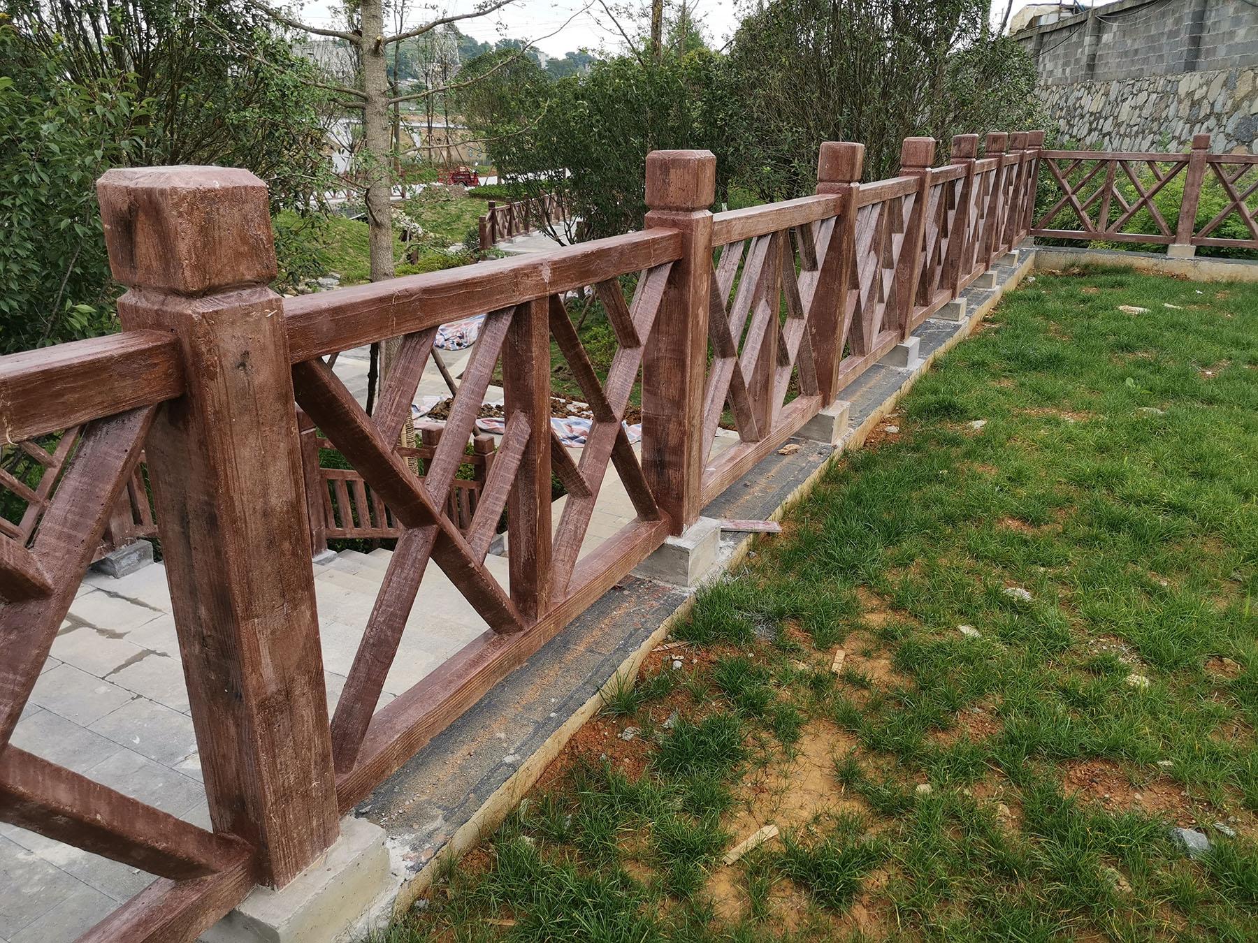 贵阳仿木栏杆