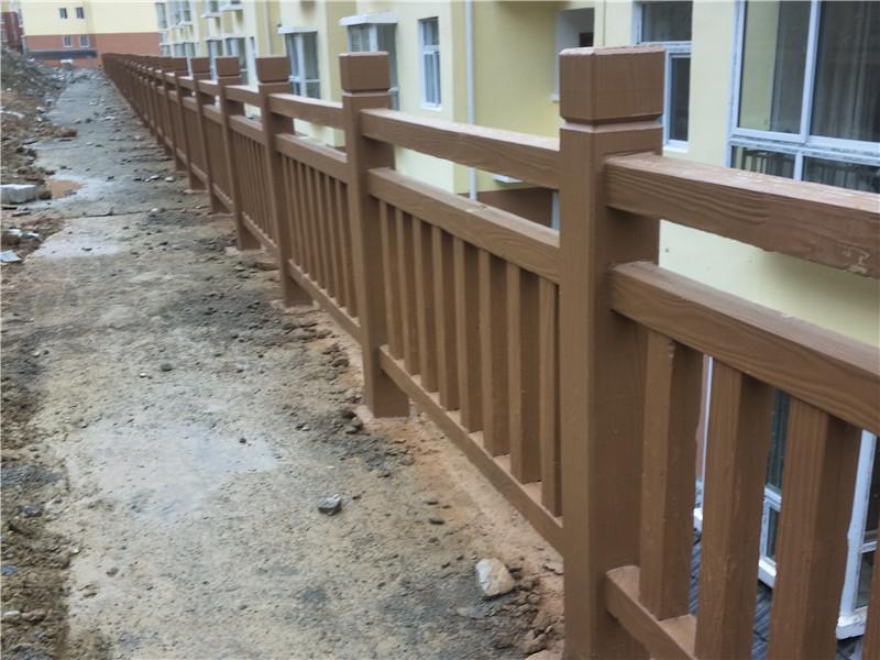 仿木纹护栏定制