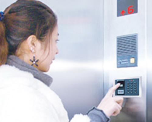 电梯指纹读卡器