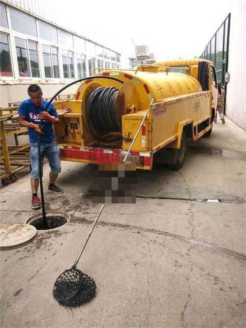 武汉小区排水管道疏通