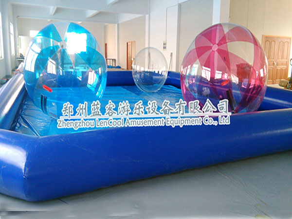 步行球充气水池
