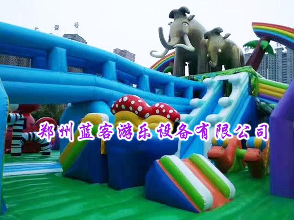 猛犸象乐园充气城堡新款