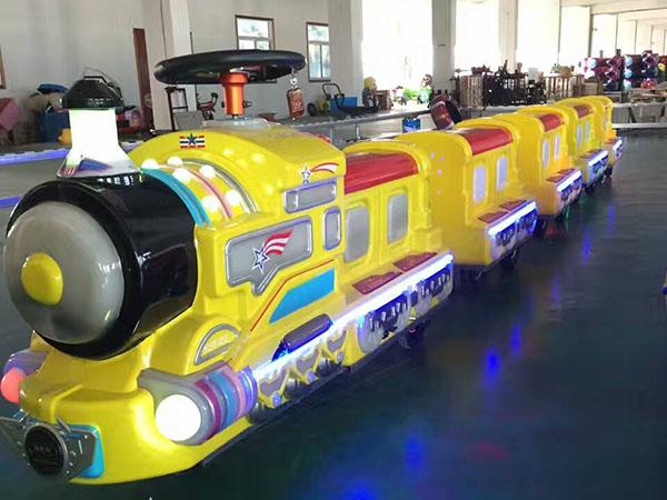 充气小火车