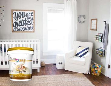 海贝乐婴儿房专用装修涂料