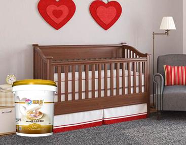 海贝乐婴儿房专用内墙涂料