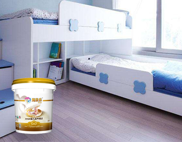 婴儿房专用内墙涂料