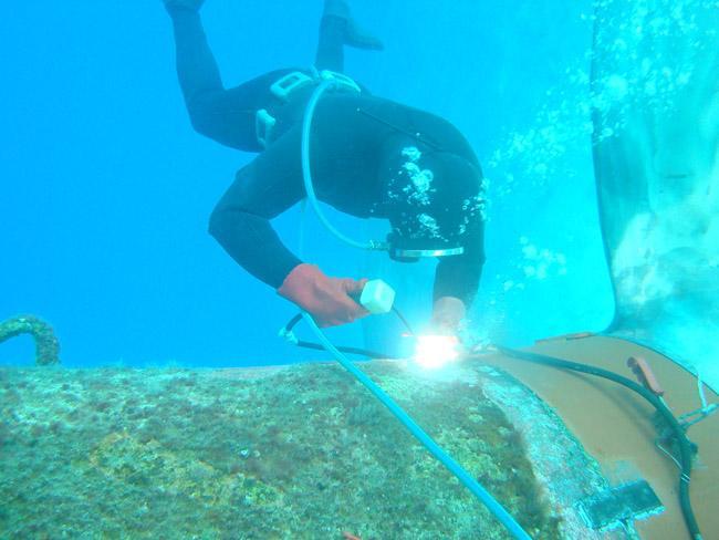 水下切割焊接