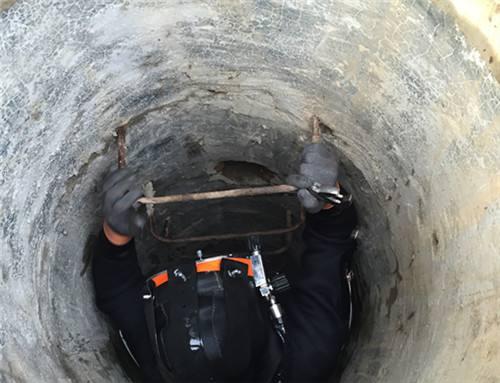 污水管道水下砌墙拆墙