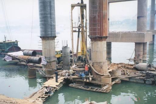桥桩加固方案