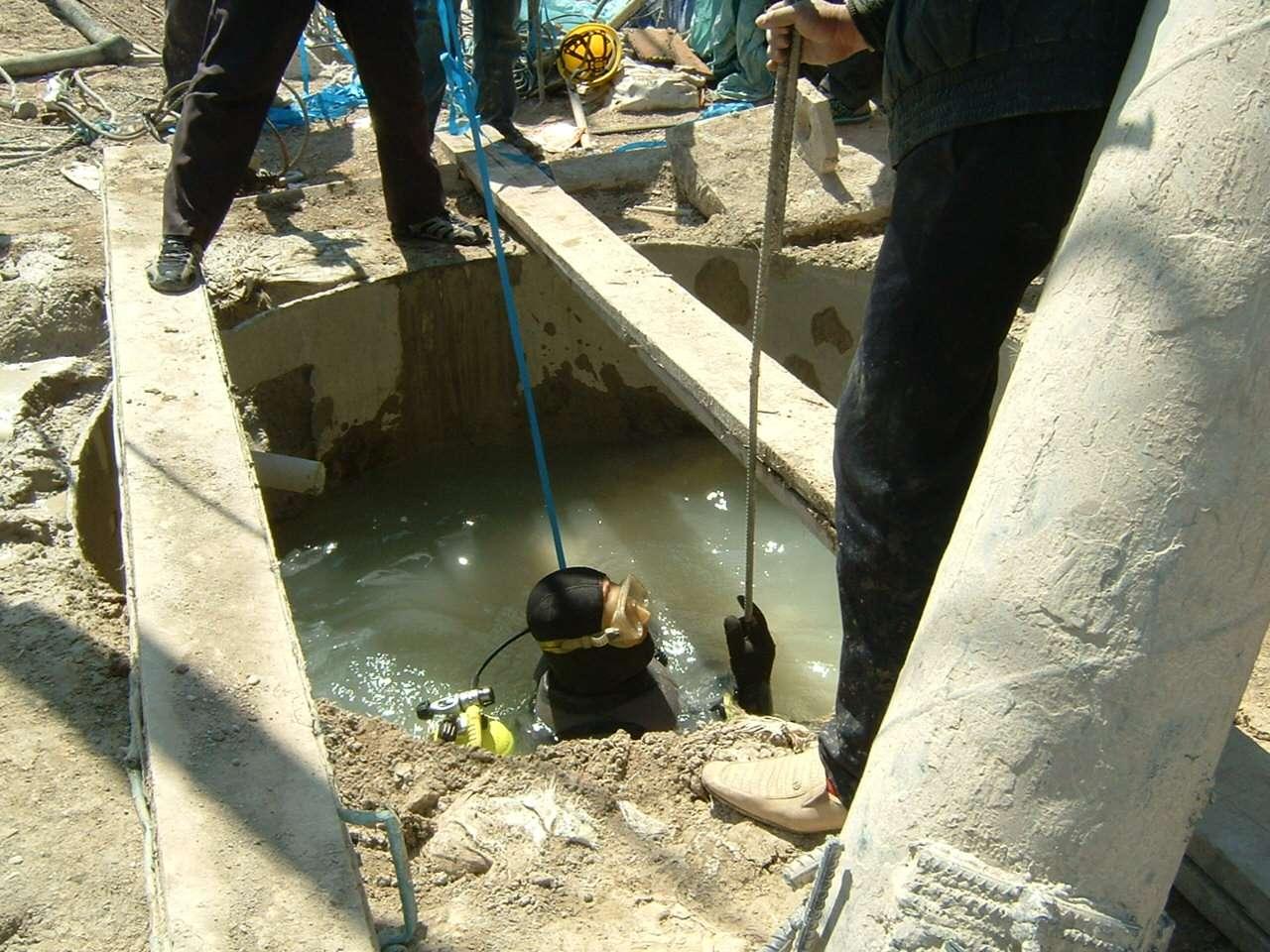 污水管道水下封堵