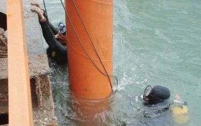 专业水下打捞作业