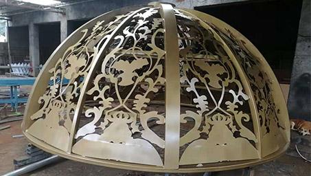 铁艺凉亭穹顶