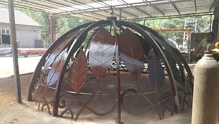 现代亭子穹顶