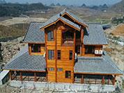 贵阳防腐木房子安装