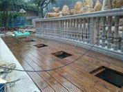 贵阳防腐木阳台