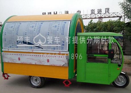 电动三轮餐饮车