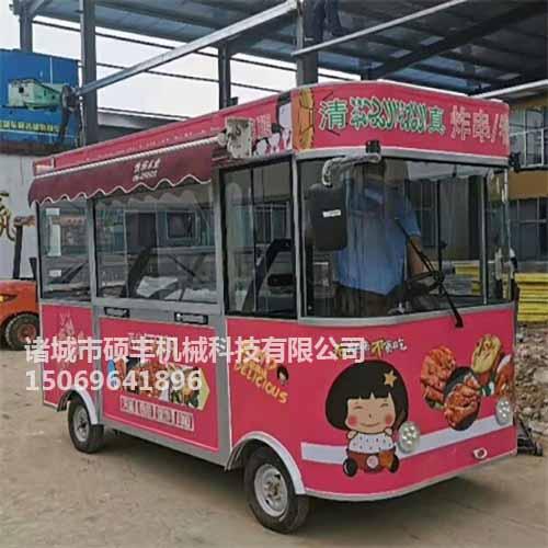电动售货车