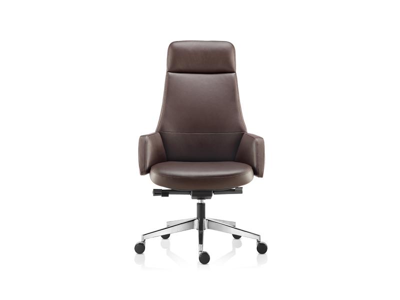 贵阳牛皮老板椅