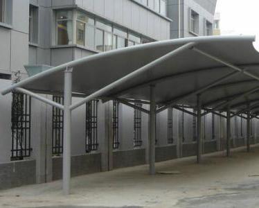 钢结构雨棚车棚