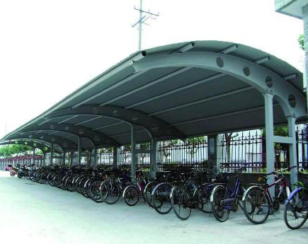 钢结构自行车棚雨棚