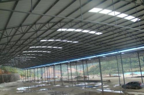 彩钢板厂房搭建