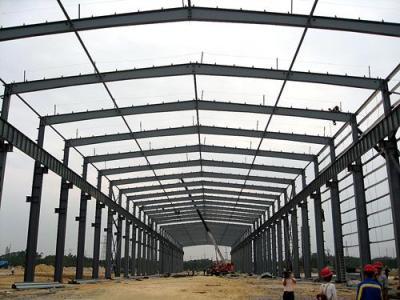 钢结构厂房制作安装