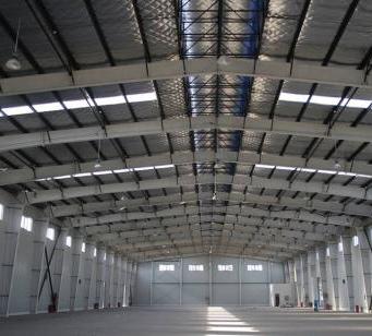 专业钢结构厂房安装