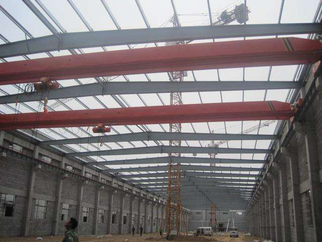 简易钢结构厂房搭建