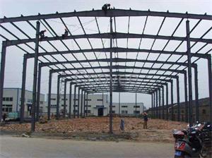 安装钢结构厂房施工