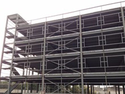 prefabricated metal frame warehouse