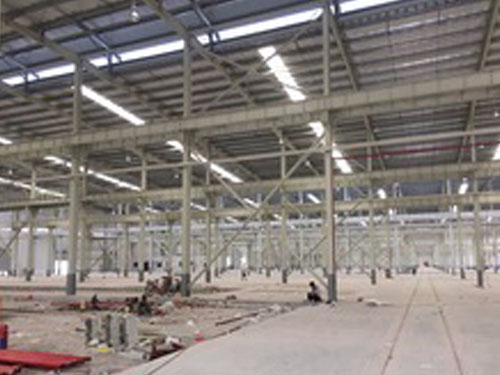 prefabricated steel structure sheep house