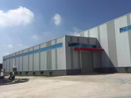 steel structure logistics center