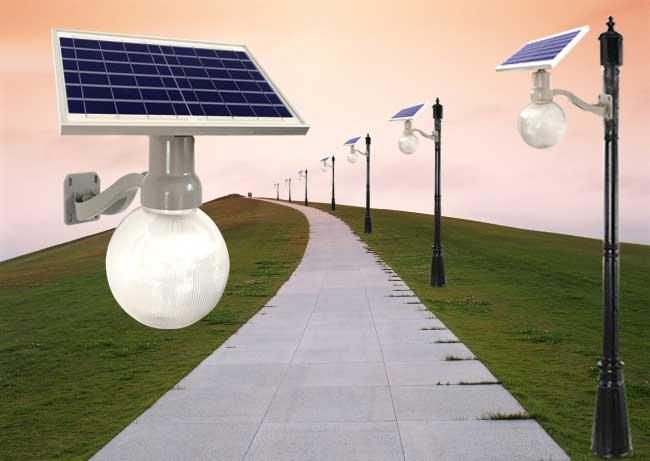 太阳能月光灯